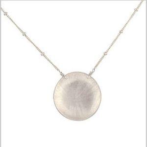 Adina Large Disc Necklace